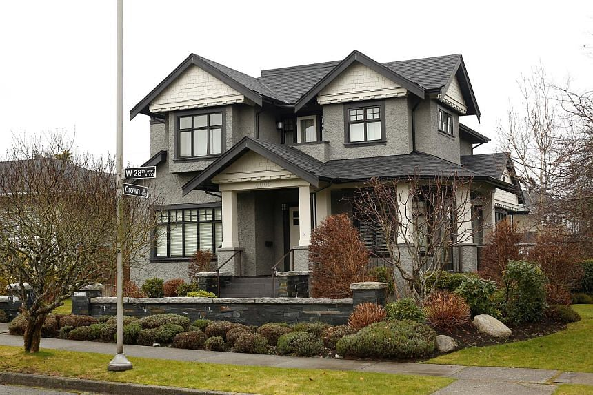 The house is in West 28th Avenue in Vancouver's quiet Dunbar neighbourhood, reported the Vancouver Sun.