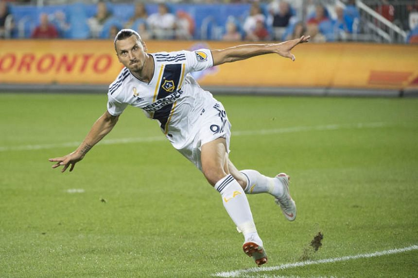 Zlatan Ibrahimovic joined LA Galaxy this season and has a contract through the 2019 season with the Major League Soccer side.