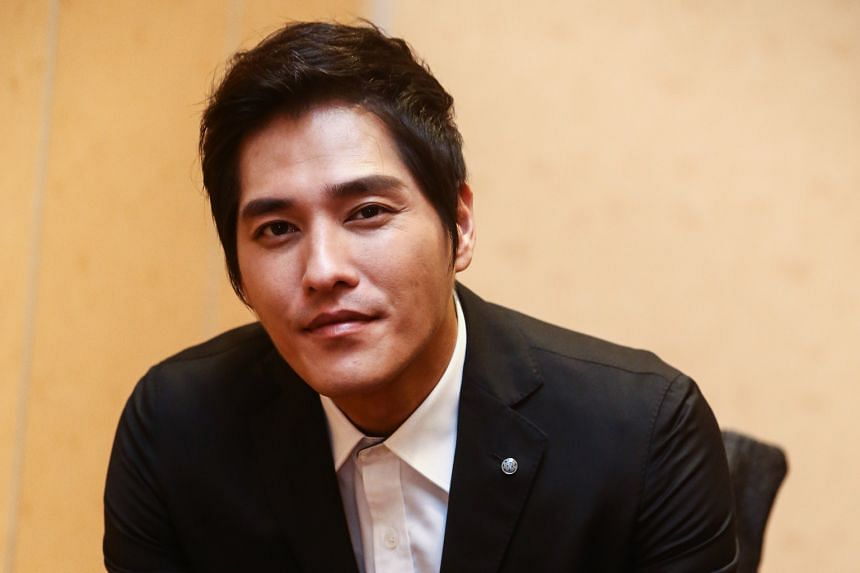 Actor Blue Lan will bring his actress wife and two toddlers with him when he films a TV thriller series here next year.