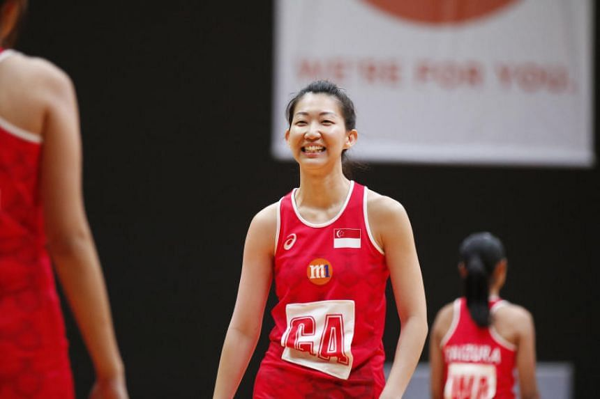 Singapore's co-vice-captain Charmaine Soh earned her 100th cap in the victory.