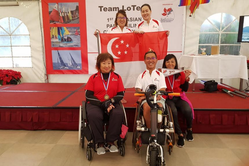 The regatta was four-time Paralympian Jovin Tan's first overseas assignment as a coach.