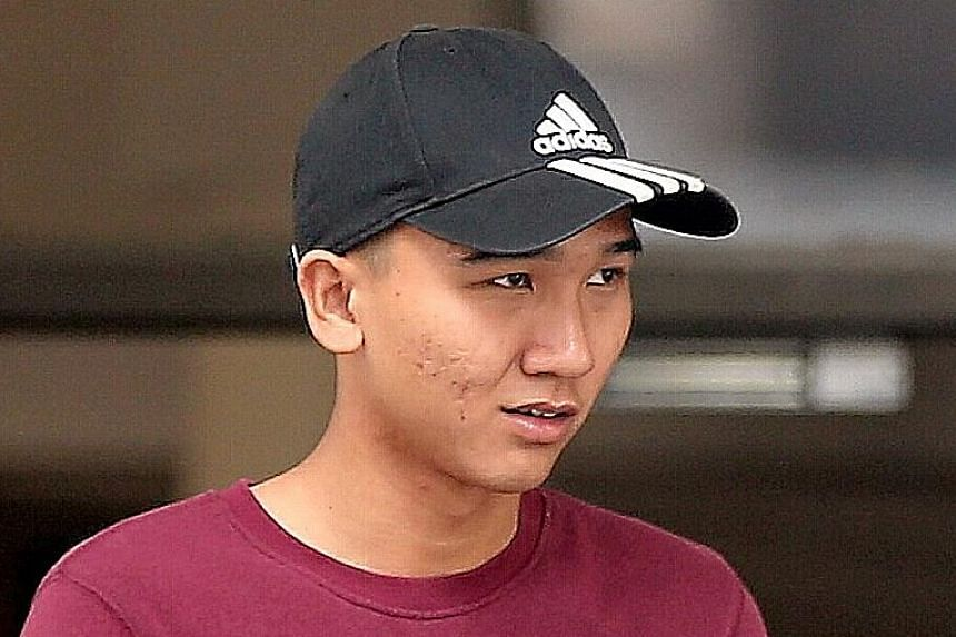 Chionh Ze Xing, 20, beat up his former girlfriend's boyfriend on May 29, 2016, with his father Chionh Boon Seng joining in the attack. They also assaulted another man who tried to help the victim. The younger Chionh was sentenced to 18 months' probat
