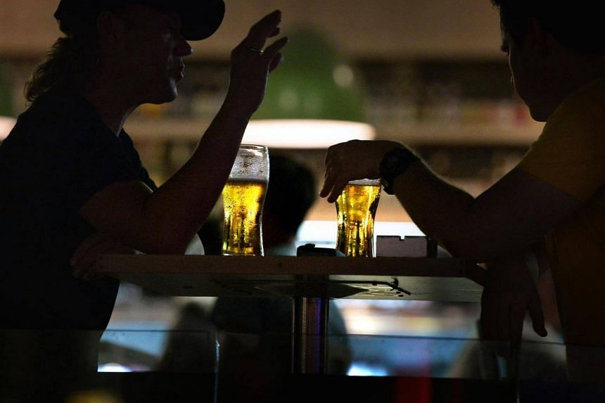 The study found that one in 24 people in Singapore struggled with alcohol abuse in their lifetime, or 4.1 per cent of the population.
