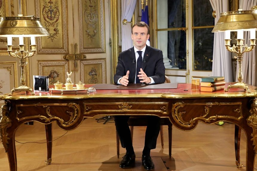"""""""Nonsense"""", """"a charade"""", """"a bluff"""" and """"a drop in the ocean"""" were among the immediate reactions that greeted French President Emmanuel Macron's televised speech on Dec 10, 2018."""