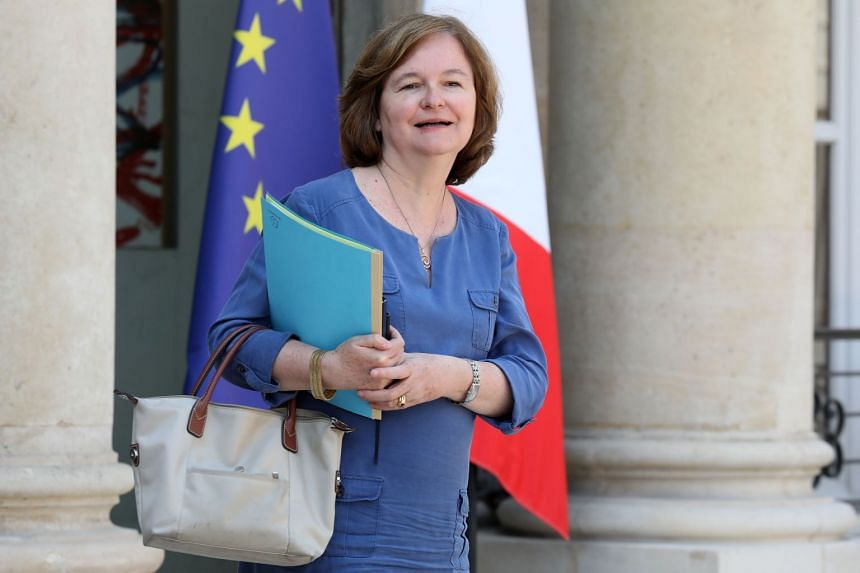 French Foreign Affairs Minister Nathalie Loiseau outside the Elysee Presidential Palace in Paris on July 25, 2018.