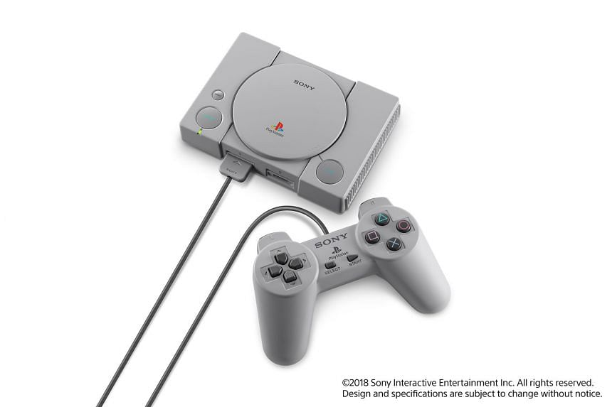 The PlayStation Classic faithfully re-creates the 1994 PlayStation console.