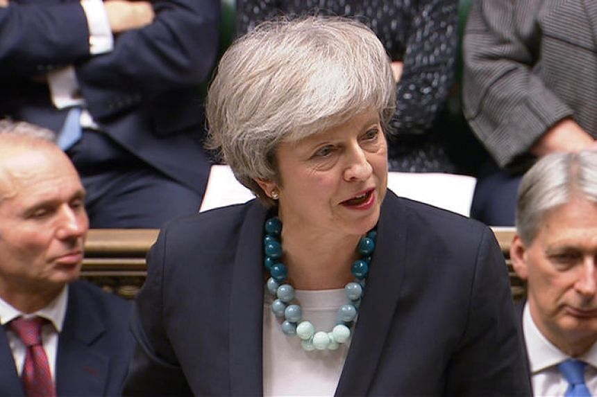 Britain's Prime Minister Theresa May makes a statement in the House of Commons, London, Britain, on Dec 10, 2018.