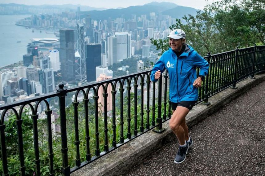 Mina Guli is running 100 marathons in 100 days to highlight a looming global water shortage.