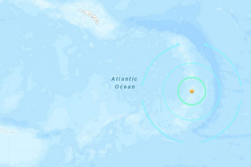 The quake, initially reported as a magnitude 7.5, was in a remote area and fairly deep underground.