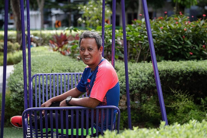 Ex-Singapore international Saswadimata Dasuki, who won the Malaysia Cup with the Lions in 1994, has been appointed the new head coach of Home United. The 49-year-old replaces Aidil Sharin, who has joined Malaysia Super League side Kedah.