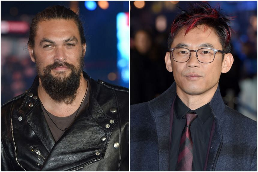 Aquaman star Jason Momoa and director James Wan talk about how being outsiders shaped them and their film, which is setting box-office records in Asia.