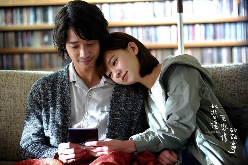 Story aside, More Than Blue is a very pretty film to watch, whether it is the good-looking people or the postcard-perfect visuals featuring plenty of warm yellow lighting and raindrops.