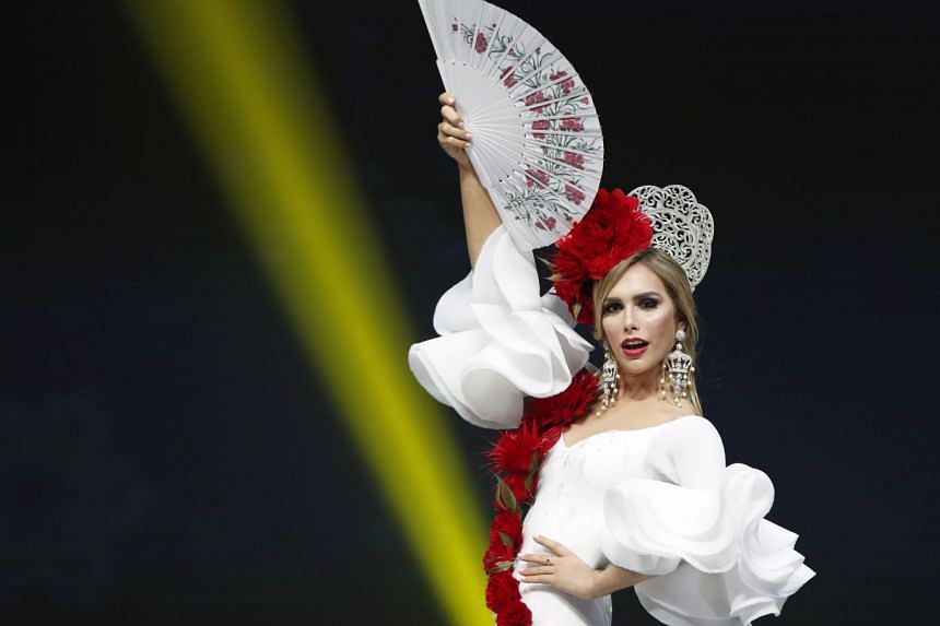 Ms Angela Ponce, who was crowned Miss Spain earlier this year, is the first