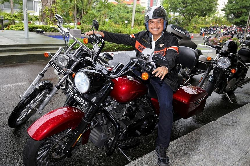 Indonesian Ambassador to Singapore Ngurah Swajaya completed a charity ride with his Harley-Davidson to raise funds for victims of the Sulawesi quake.