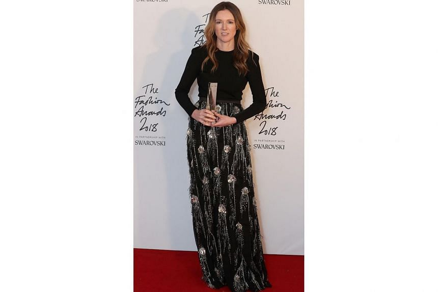 Clare Waight Keller, the artistic director of Givenchy, was named British Womenswear Designer of the Year.