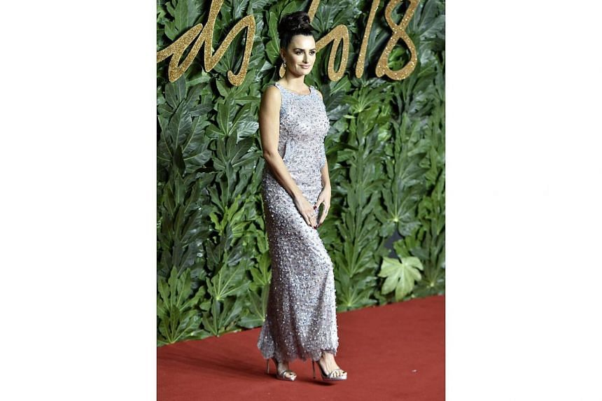 Stepping out for the British Fashion Awards are Victoria Beckham and Penelope Cruz (above).