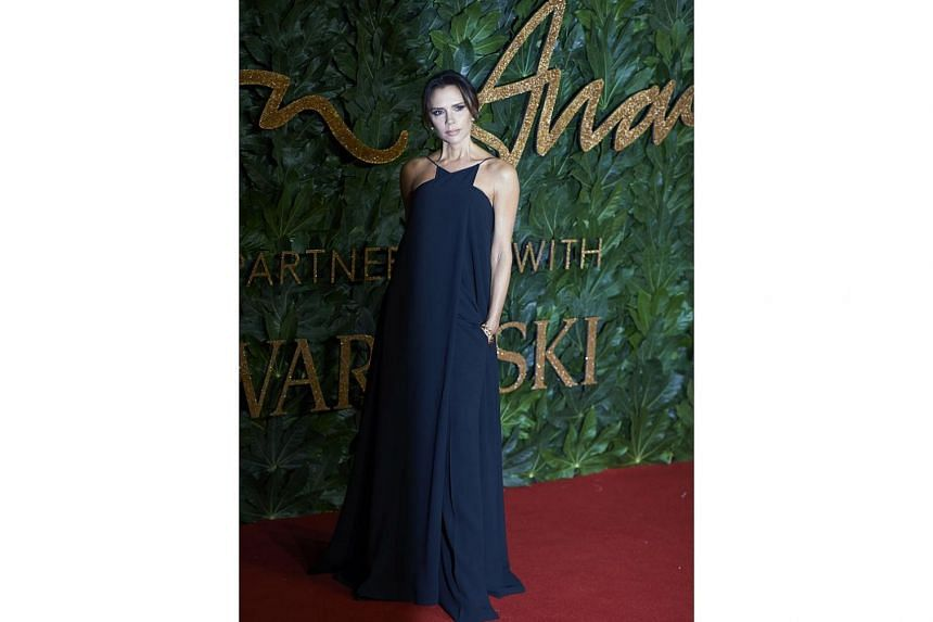 Stepping out for the British Fashion Awards are Victoria Beckham (above) and Penelope Cruz.