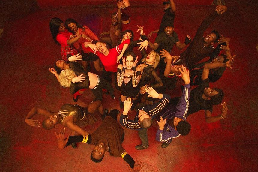 Most of the performers in Climax (above) by Gaspar Noe (below) have not acted before and are not professional dancers either.