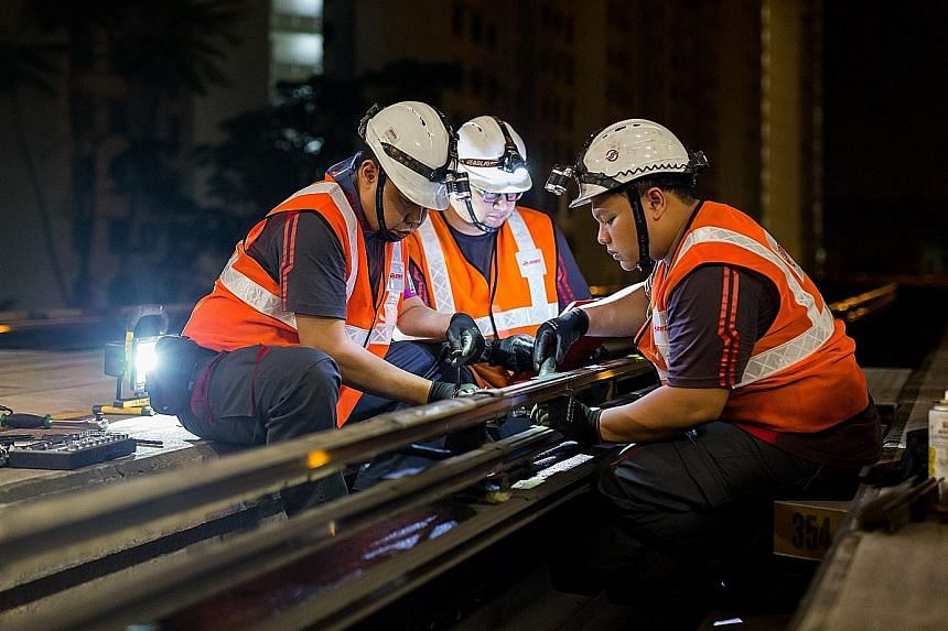 From Jan 13, the Bukit Panjang LRT network will close earlier, at 11.30pm daily, to allow for works such as upgrading the network's power rail systems and signalling system to be stepped up.