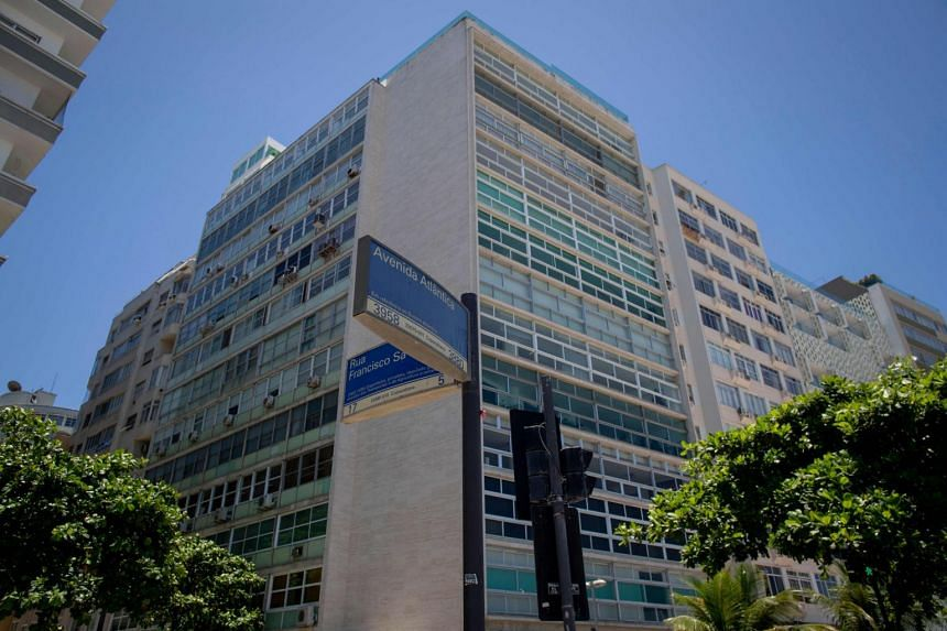 The upmarket building on Rio de Janeiro's Copacabana Beach, in which Japanese car giant Nissan owns an apartment that was used by its former chairman Carlos Ghosn while he visited Brazil.