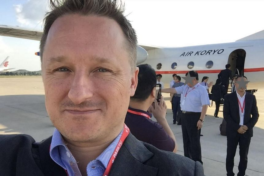 Michael Spavor runs the Paektu Cultural Exchange, an organisation that facilitates business, tourism and sport trips to North Korea.