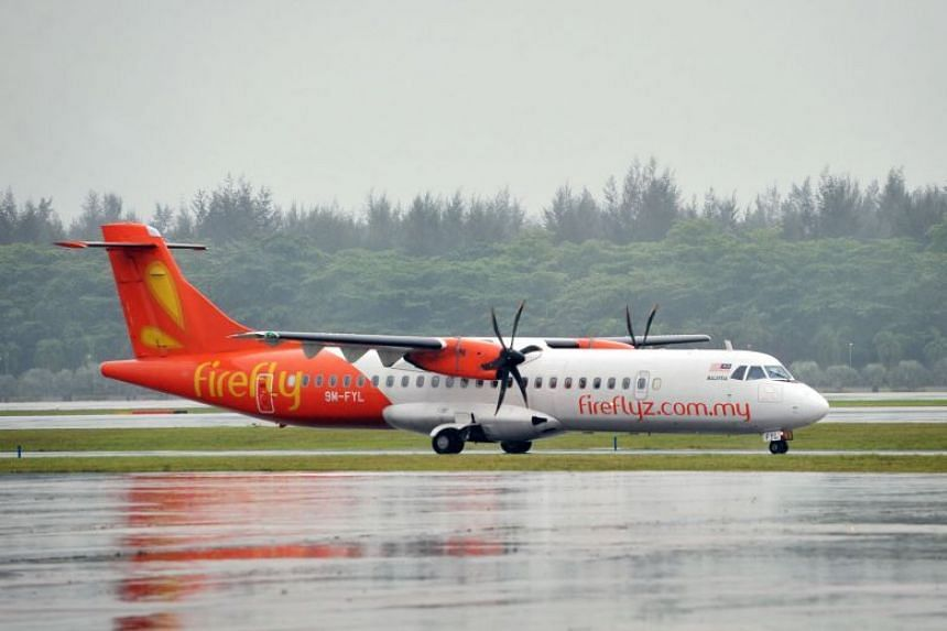 Firefly suspended operations to Singapore from Dec 1, 2018, as it did not have approval from the Civil Aviation Authority of Malaysia to make the move.
