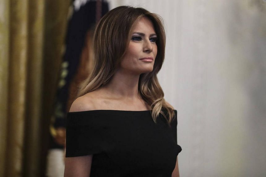 Mrs Melania Trump has previously taken issue with media coverage of her.