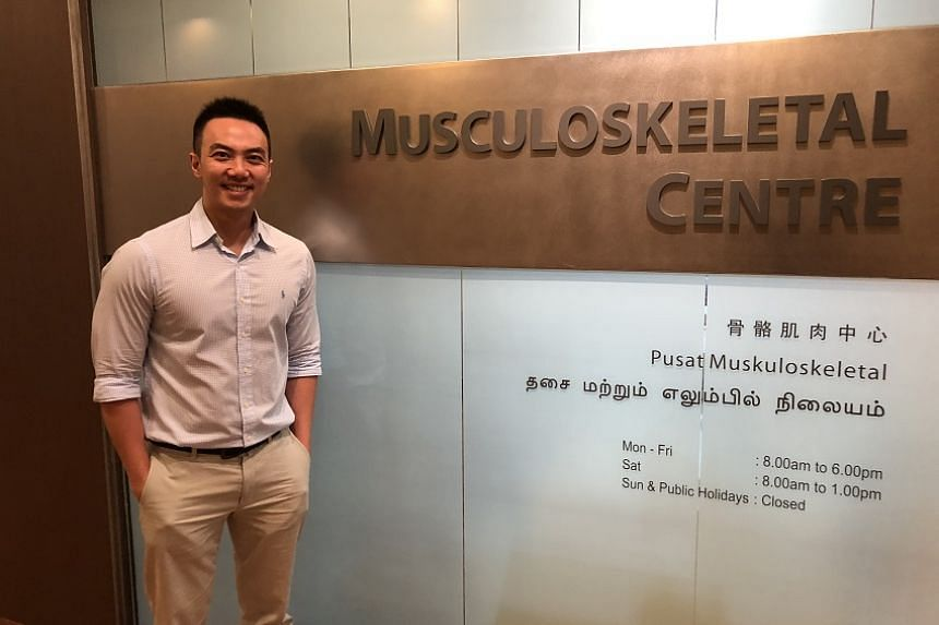 Dr Eric Cher, a senior resident with SingHealth, said that his decision to specialise in orthopaedic surgery was greatly influenced by his background in biomedical engineering.