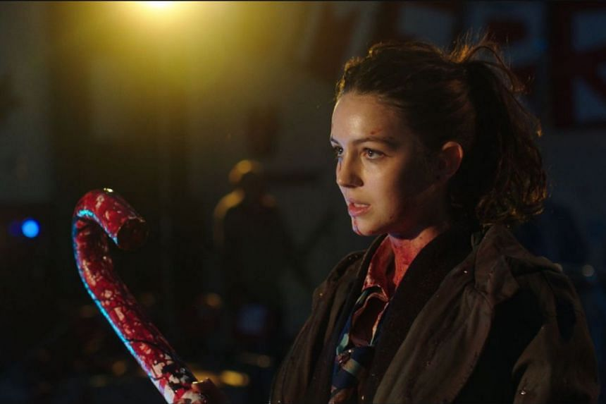 Ella Hunt deals with zombies in Anna And The Apocalypse.