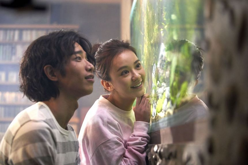 Jasper Liu Yi-hao and Ivy Chen Yi-han are the stars in More Than Blue.