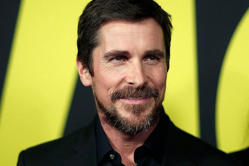Actor Christian Bale.