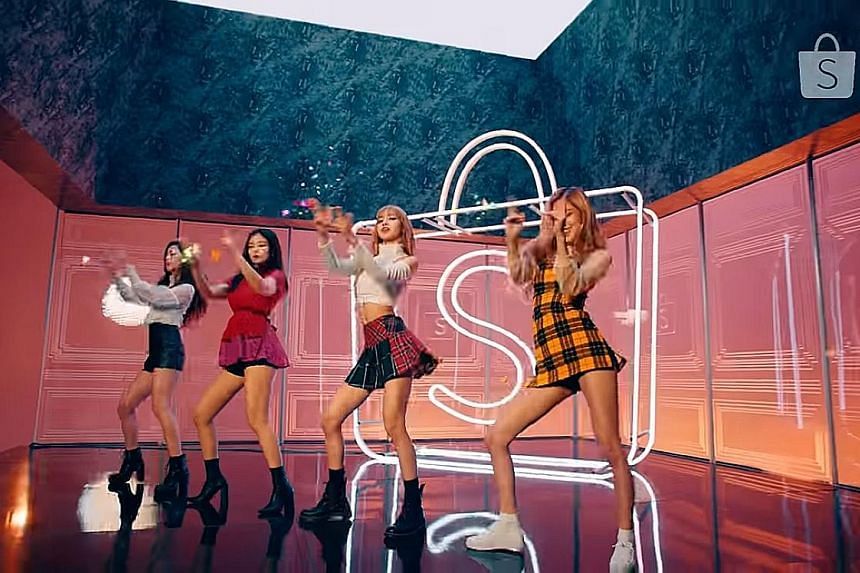 The television advertisement starring BlackPink was pulled off air because members of the K-pop supergroup were dressed in mini-skirts. Crazy Rich Asians also picked up two Golden Globe nominations last week. Jennifer Lopez (right) proved she was a c