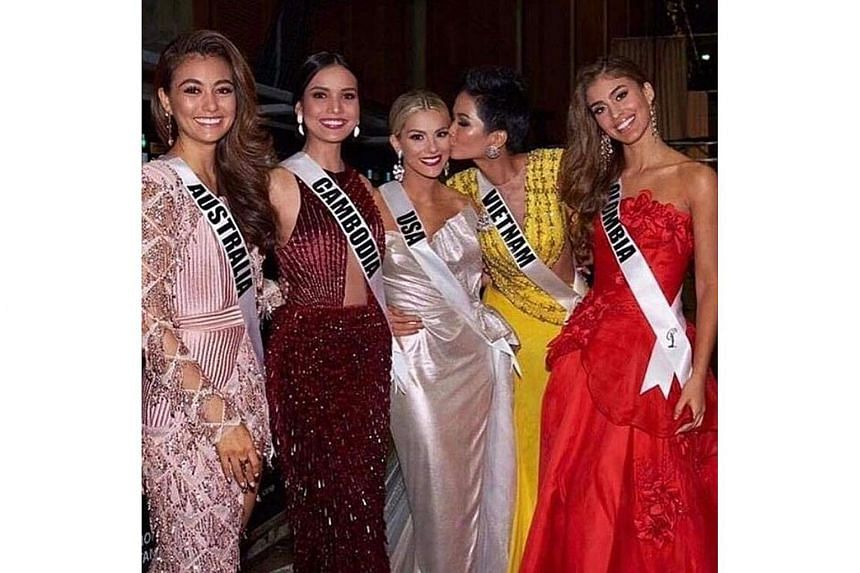 Miss USA Sarah Rose Summers made the comments about fellow contestants Miss Vietnam H'Hen Nie and Miss Cambodia Nat Rern alongside Miss Colombia Valeria Morales and Miss Australia Francesca Hung in an Instagram Live video.
