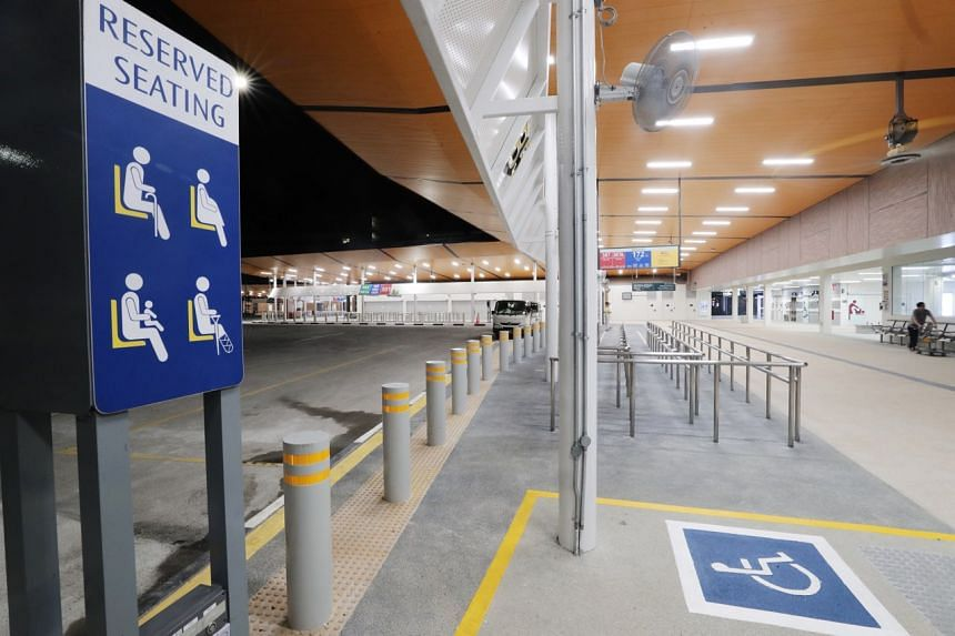 The new interchange has been designed to be inclusive with CCTV cameras installed that use artificial intelligence to spot wheelchair users who may need help.