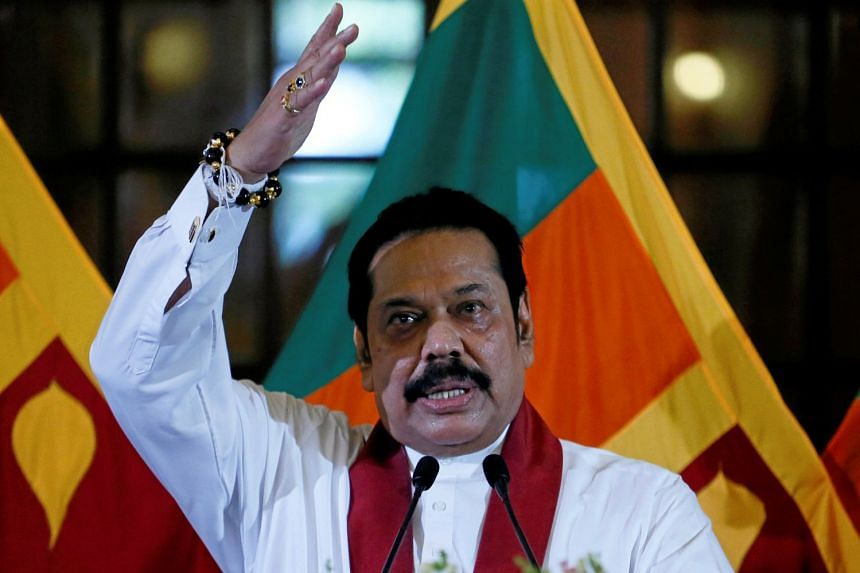Former Sri Lankan President Mahinda Rajapaksa to resign from PM post tomorrow