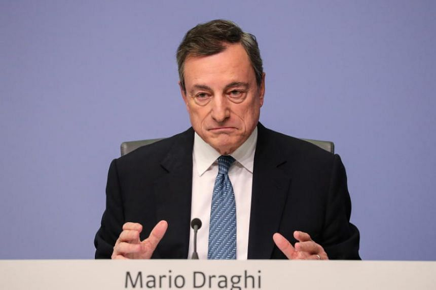 "ECB chief Mario Dragh said at at news conference on Dec 13, 2018, that the global backdrop is ""characterized by increased general uncertainty"" and the ""balance of risks is moving to the downside""."