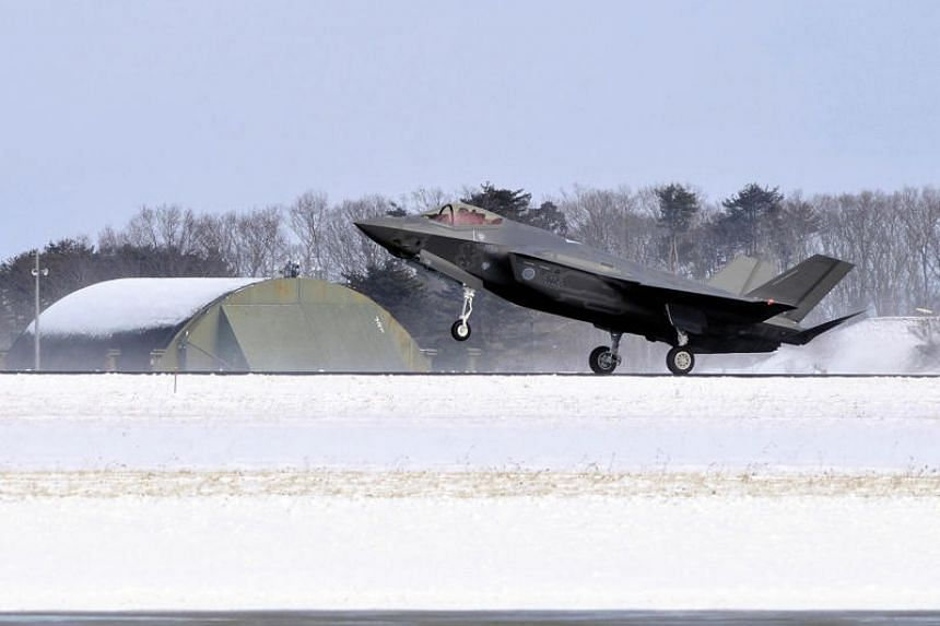 The Japanese government is considering acquiring 80 to 100 additional state-of-the-art F-35 stealth fighters.