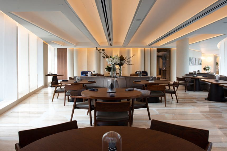 Fine-dining European restaurant Preludio at Frasers Tower.