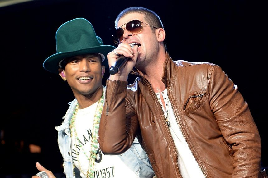 Pharrell Williams had argued that he and Robin Thicke had evoked the feel of Marvin Gaye's song in Blurred Lines, and that there was no copyright infringement.