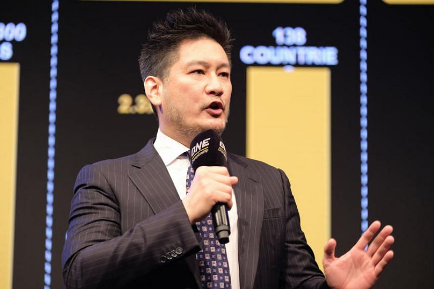 Chatri Sityodtong, Chairman and CEO of One Championship, whose events are being broadcasted in 138 countries and counting.