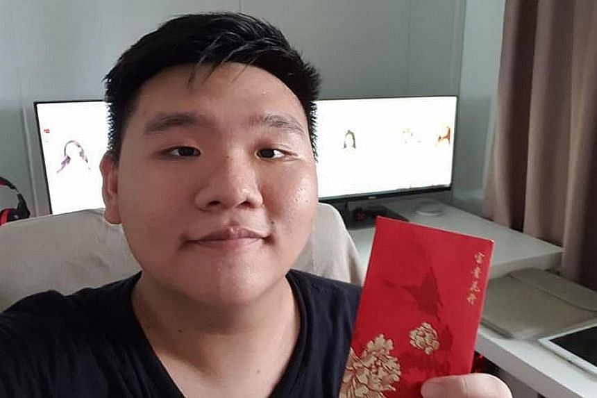 Mr Bryan Lee found a winning 4-D lottery ticket on the bus and returned it to its owner, who gave him a $200 hongbao in return.