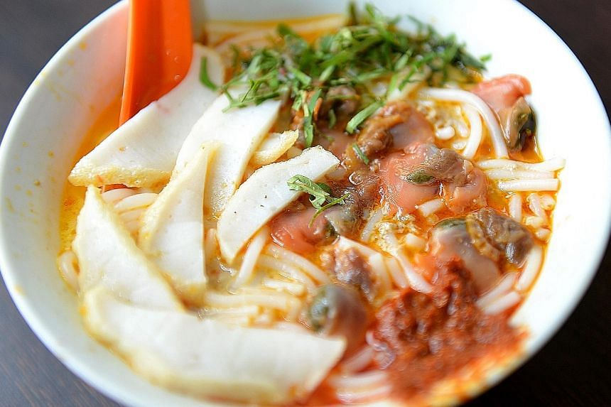 Sungei Road Laksa is nominated in a category for establishments defined by a particular dish.
