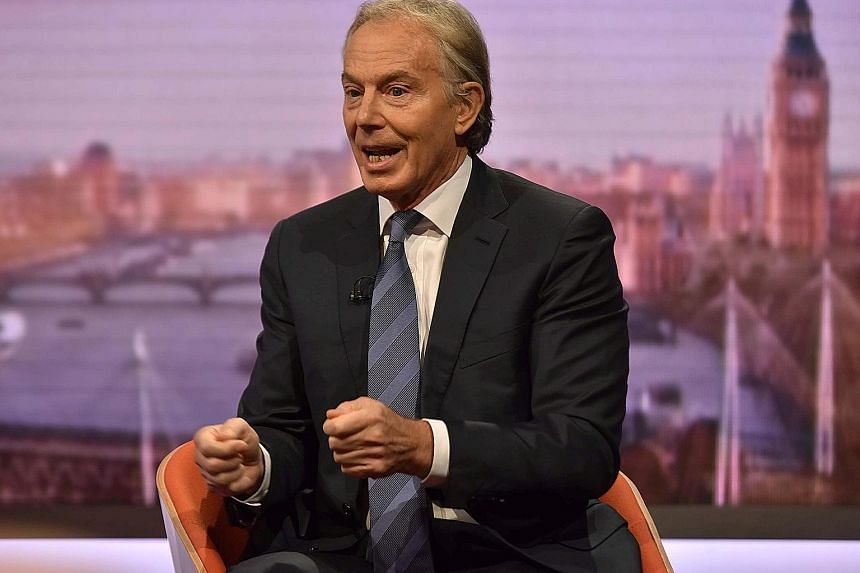 Britain's former prime minister Tony Blair told European Union leaders they should offer to reform the bloc.