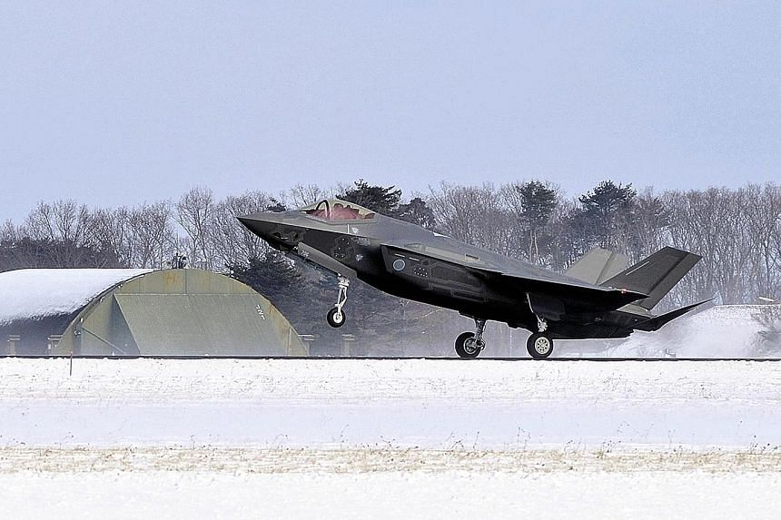The Japanese government is reportedly planning to buy 105 F-35 jets from the United States to replace an ageing fleet of F-15s. The 105 jets will include 42 F-35B aircraft, which have short take-off and vertical landing capabilities and have not yet