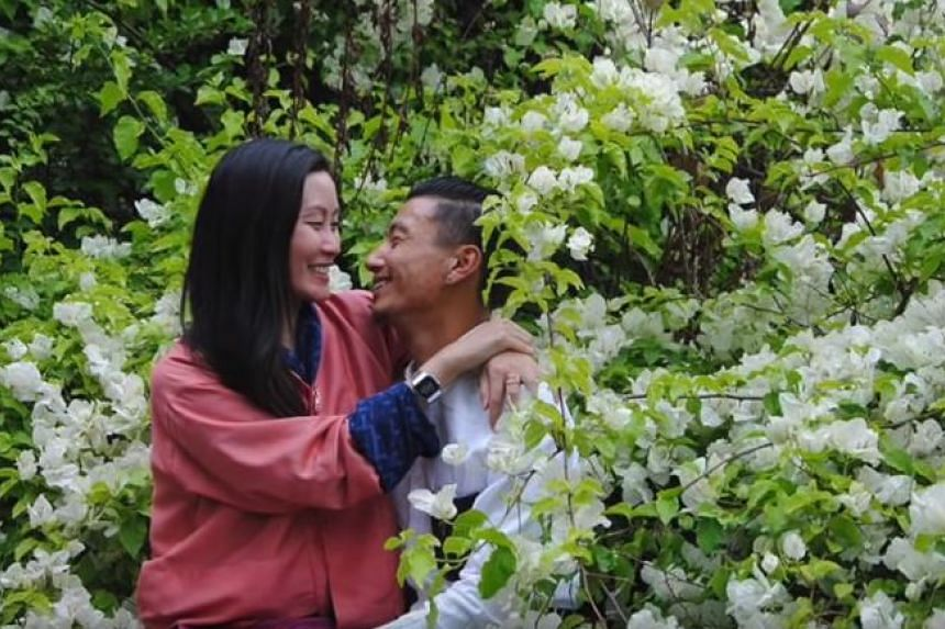 Karen Lim met her husband while on a trip to Bhutan in 2017.