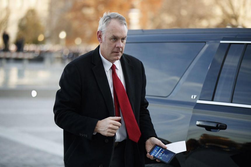 Mr Ryan Zinke's departure comes amid numerous ethics investigations into his business dealings, travel and policy decisions.