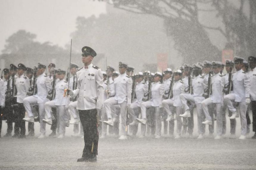 The parade marked the completion of 38 weeks of rigorous training at the Officer Cadet School and saw 384 cadets commissioned as officers of the Singapore Armed Forces.