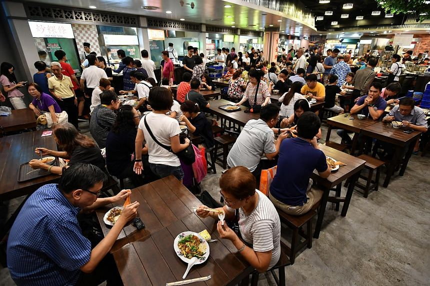 The Malaysia Boleh! foodcourt at AMK Hub continues to be thronged with hungry hordes.
