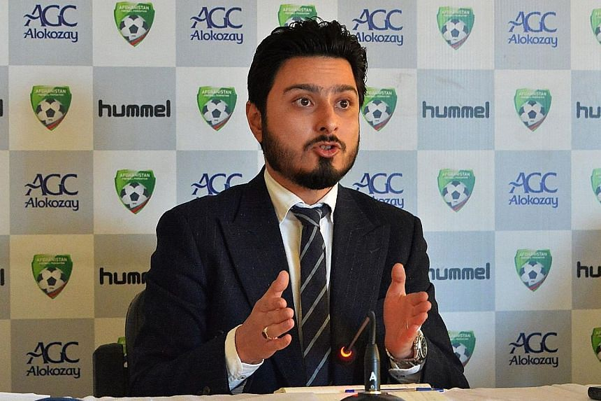 Sayed Alireza Aqazada, the Afghanistan FF secretary general, is one of five men suspended after a probe into allegations of sexual abuse.