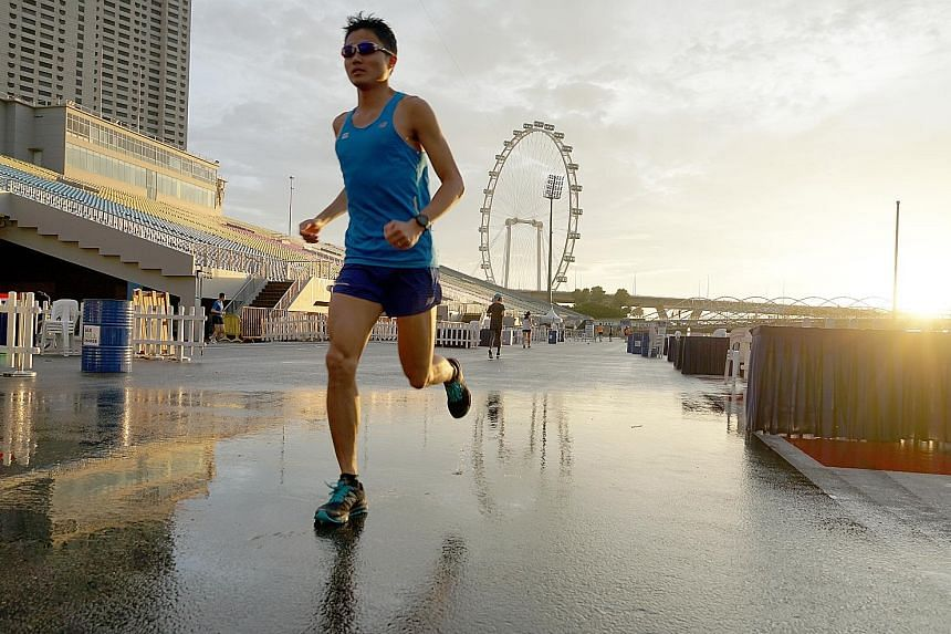 Mok Ying Ren, double SEA Games gold medallist and seven-time Singapore Marathon local champion, has reached the finish line for his #RunWithMok column this year and wishes to thank all readers who have followed this series.